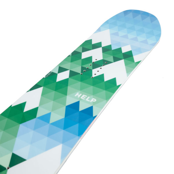 Tablas de snowboard Help The Valley
