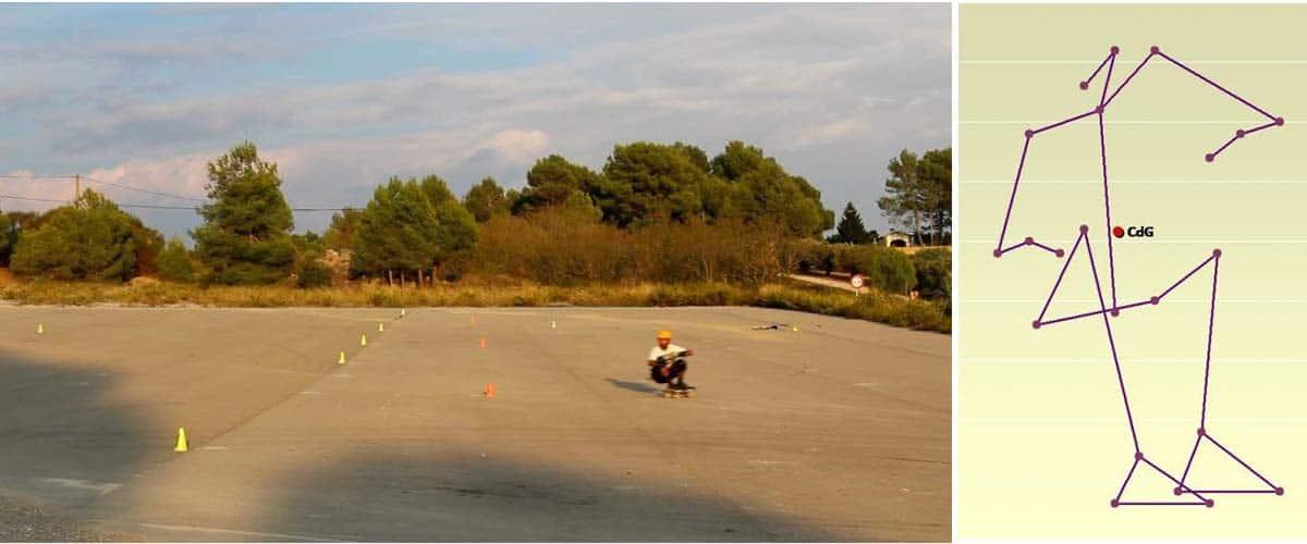 Skate para entrenamientos de snowboard