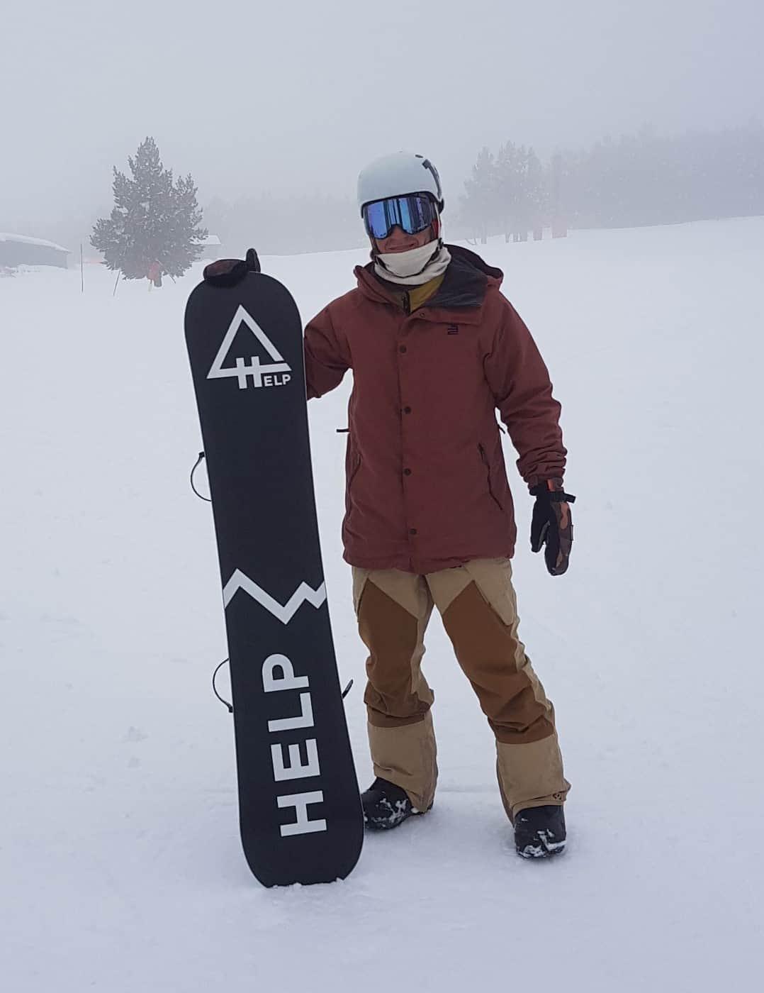 Riders españoles snowboard Pau Bartolo