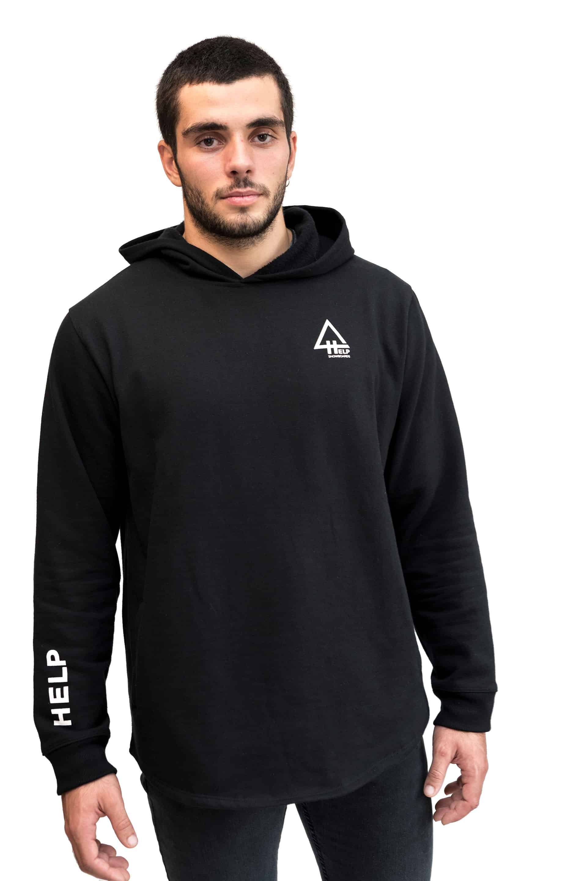 black hoodie snowboard help