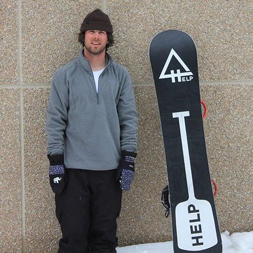 Rider español snowboard Aitor Matias