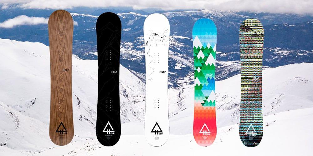 Comprar tablas de snowboard baratas