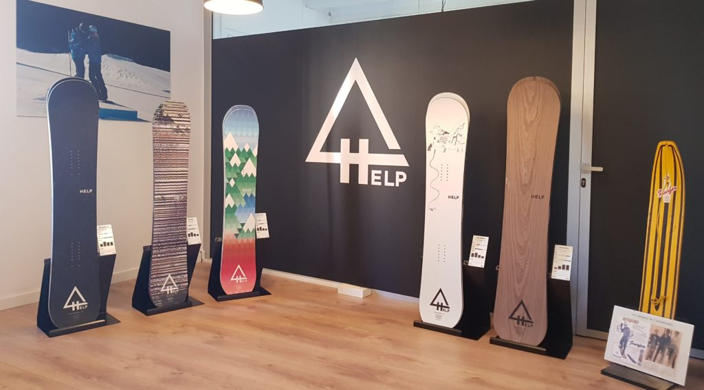 showroom help snowboards