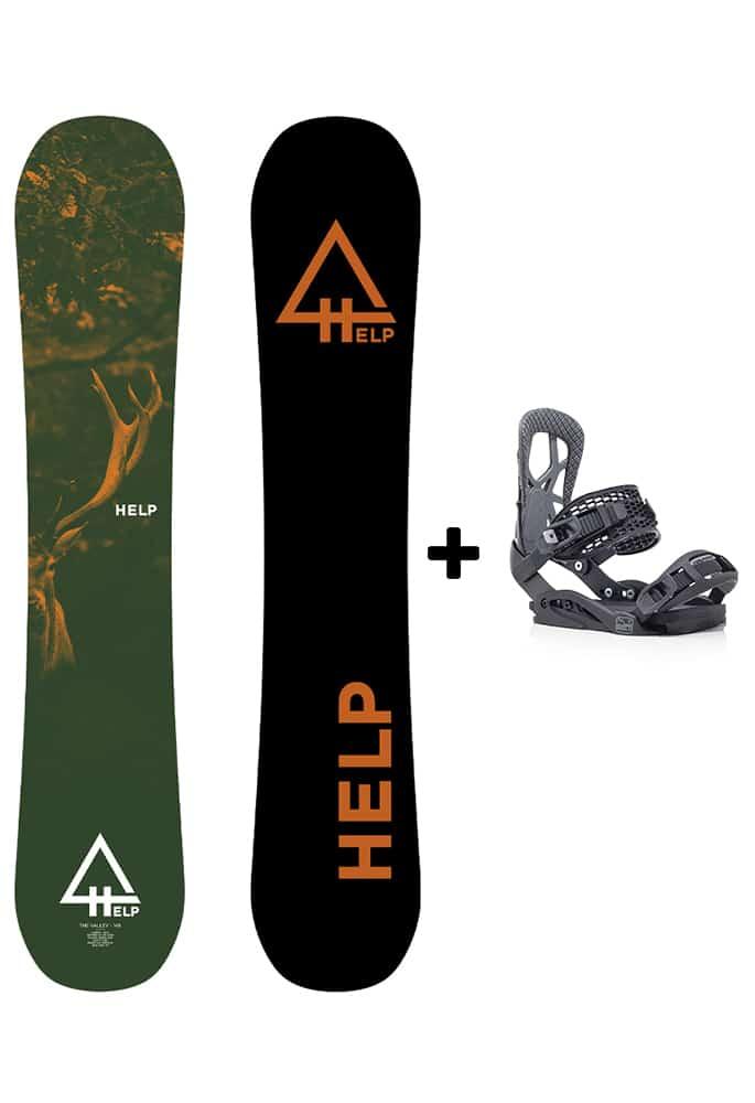 pack tabla chica snowboard