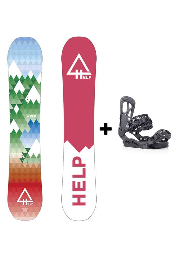 ofertas pack snowboard baratos