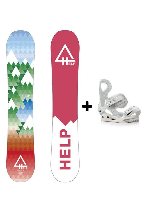 comprar tabla y fijaciones snowboard