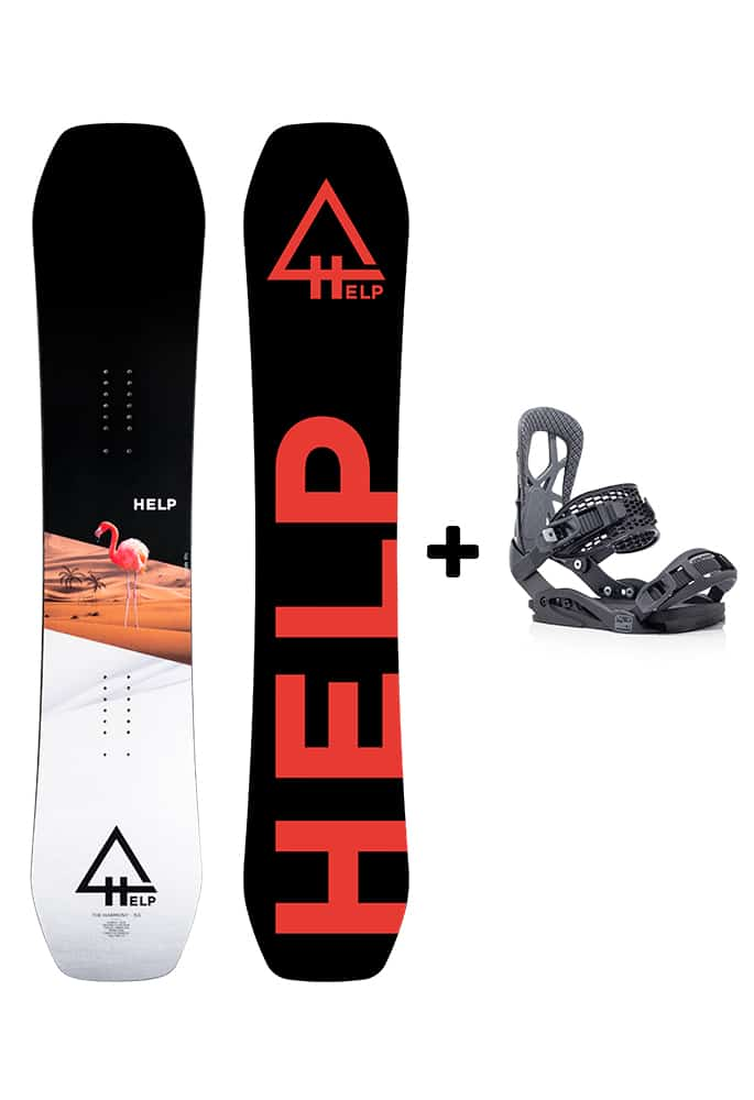 pack snowboard barato