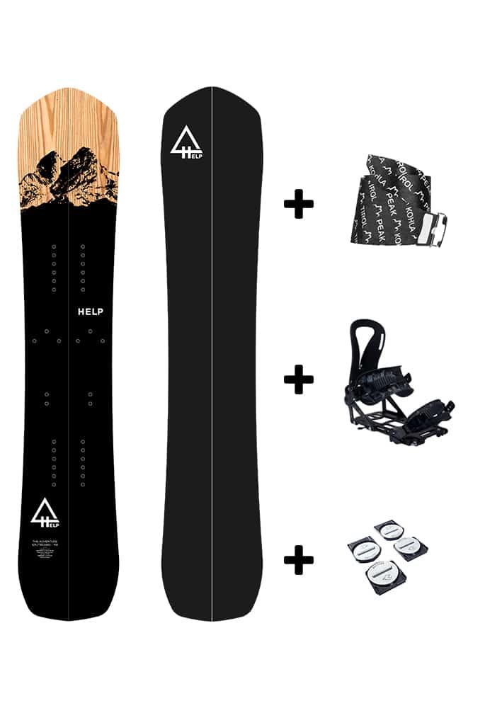 pack splitboard